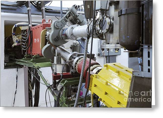 Particle Accelerator Equipment Greeting Card by RIA Novosti