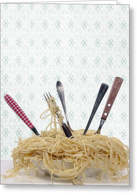 Pasta For Five Greeting Card