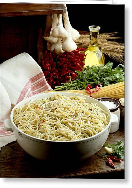 Pasta Greeting Card by R. Marcialis