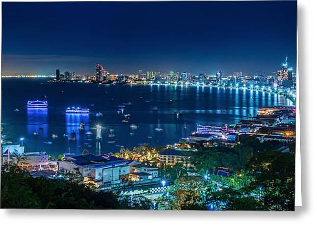 Pattaya City  Greeting Card