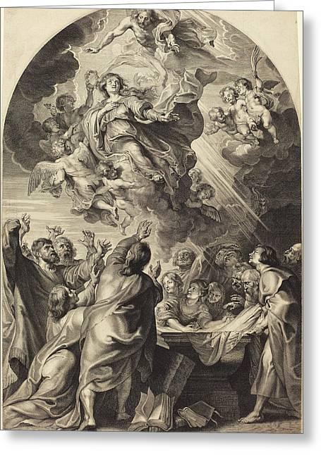 Paulus Pontius, After Sir Peter Paul Rubens Flemish Greeting Card