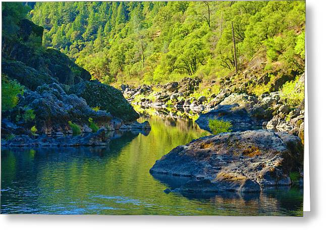 Greeting Card featuring the photograph Peaceful Waters by Sherri Meyer