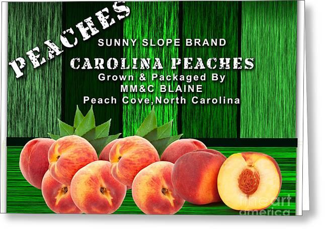 Peach Farm Greeting Card