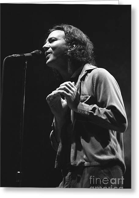 Pearl Jam Greeting Card