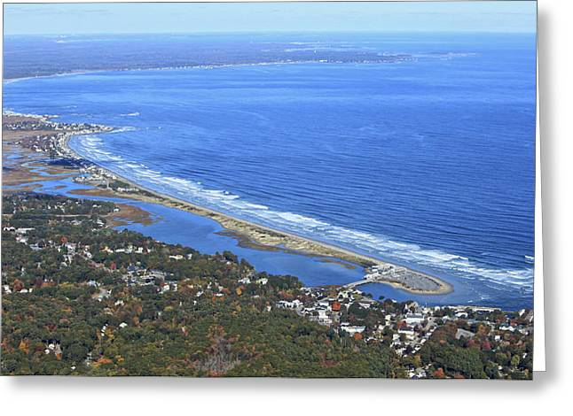 Perkins Cove, Ogunquit Beach, Ogunquit Greeting Card