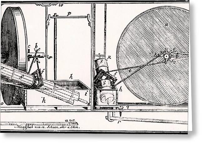 Perpetual Motion Machine Greeting Card