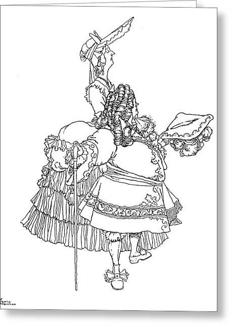 Perrault Cinderella Greeting Card