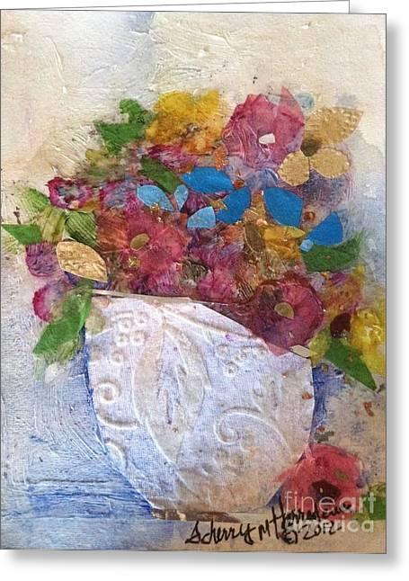 Petals And Blooms Greeting Card