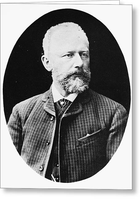 Peter Ilich Tchaikovsky (1840-1893) Greeting Card by Granger