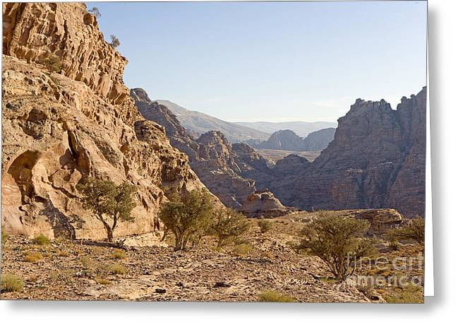 Petra, Jordan Greeting Card