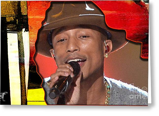 Pharrell Williams Greeting Card