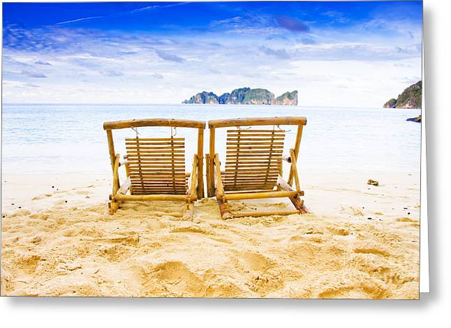Phi Phi Island Thailand Greeting Card