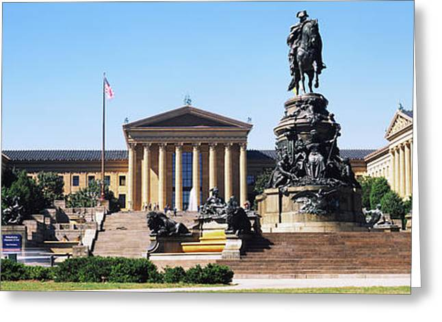 Philadelphia Museum Of Art Greeting Card