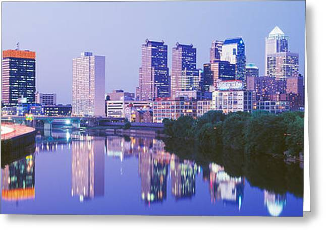 Philadelphia, Pennsylvania, Usa Greeting Card by Panoramic Images