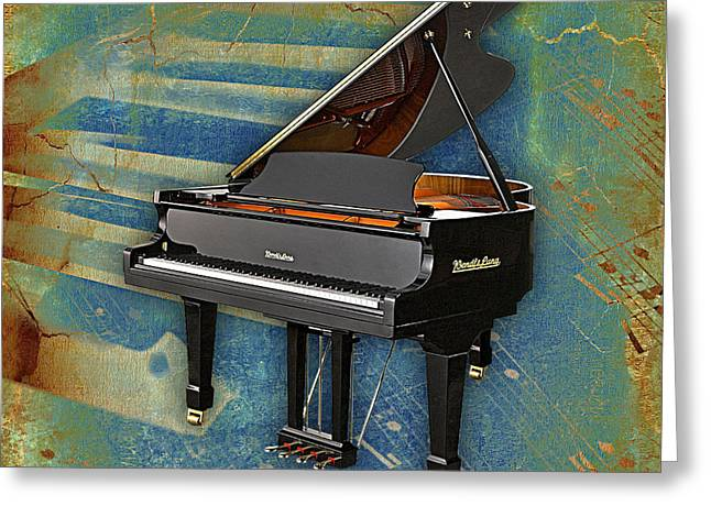 Piano Collection. Greeting Card