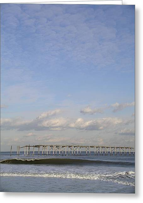 Pier Wave Greeting Card