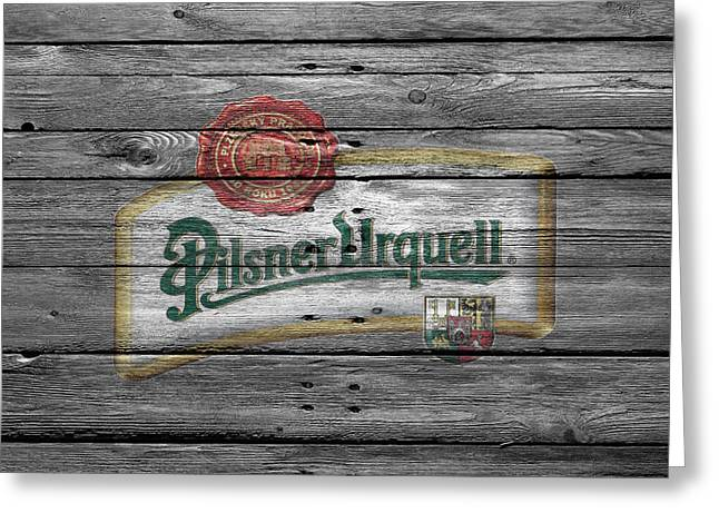 Pilsner Urquell Greeting Card