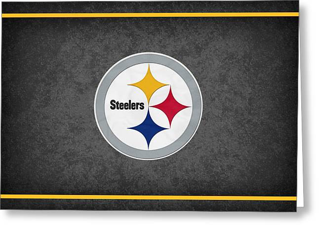 Pittsburgh Steelers Greeting Card by Joe Hamilton