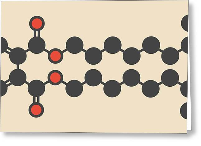 Plasticizer Molecule Greeting Card
