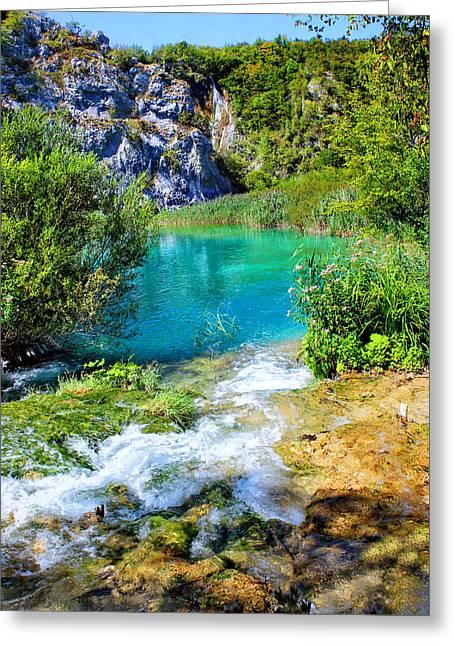 Plitvicka Jezera Greeting Card