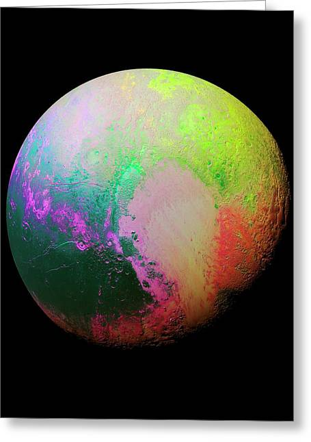 Pluto Greeting Card by Nasa/jhuapl/swri