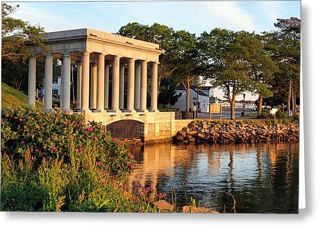 Plymouth Rock Canopy Greeting Card