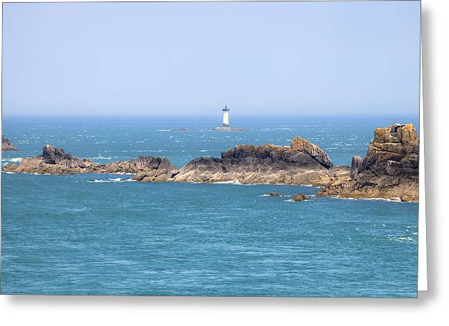 Pointe Du Grouin - Brittany Greeting Card by Joana Kruse