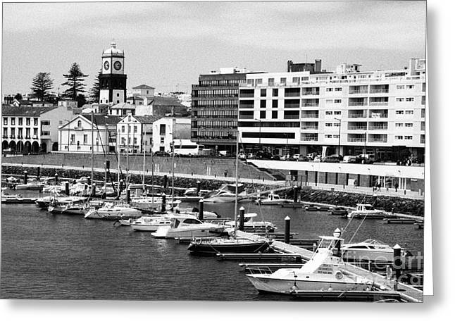 Ponta Delgada - Azores Greeting Card by Gaspar Avila