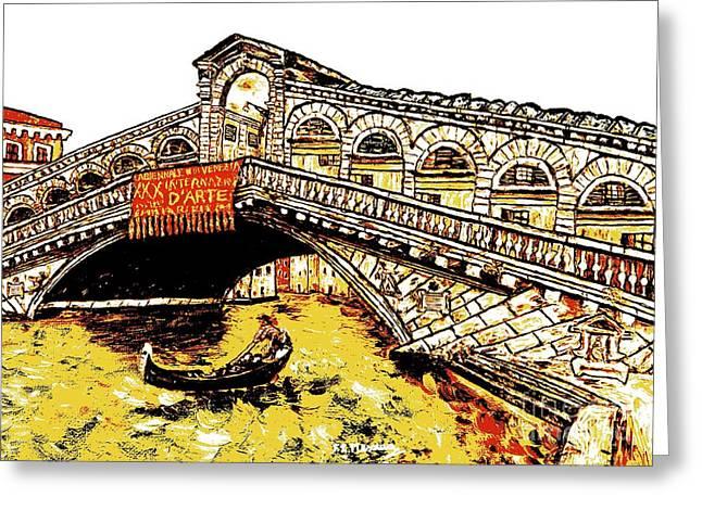 An Iconic Bridge Greeting Card
