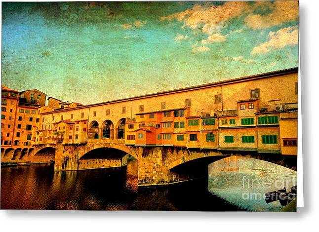 Ponte Vecchio 01 Greeting Card