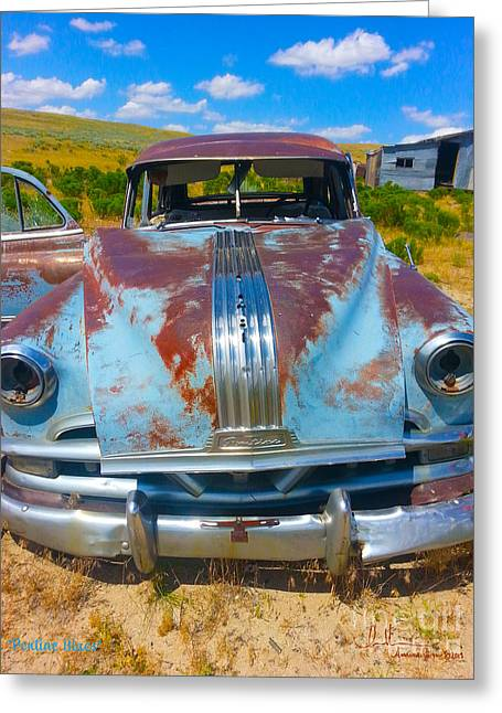 Pontiac Blues Greeting Card