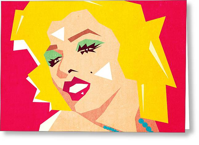 Pop Art  Greeting Card by Mark Ashkenazi