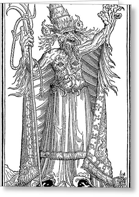 Pope Alexander Vi (1431-1503) Greeting Card