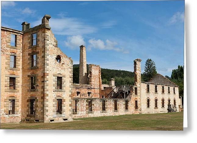 Port Arthur Historic Site Greeting Card by Martin Zwick