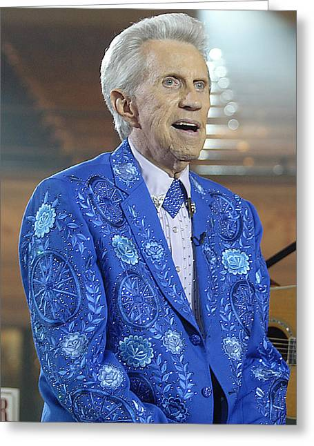 Porter Wagoner Greeting Card