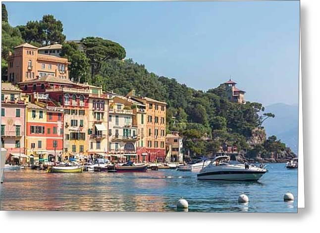 Portofino, Italy Greeting Card by Ken Welsh