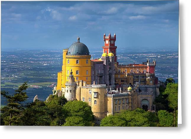 Portugal, Sintra Greeting Card