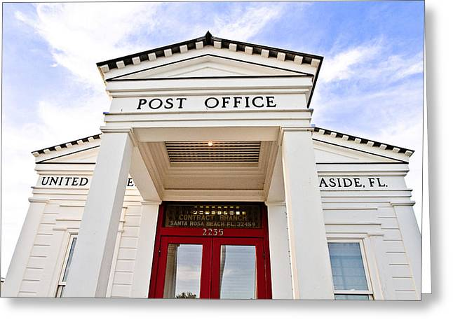 Post Office Greeting Card by Scott Pellegrin