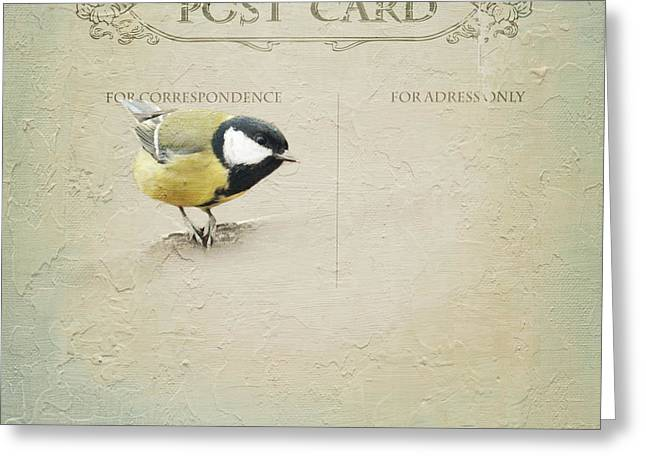 Postcard Greeting Card by Heike Hultsch