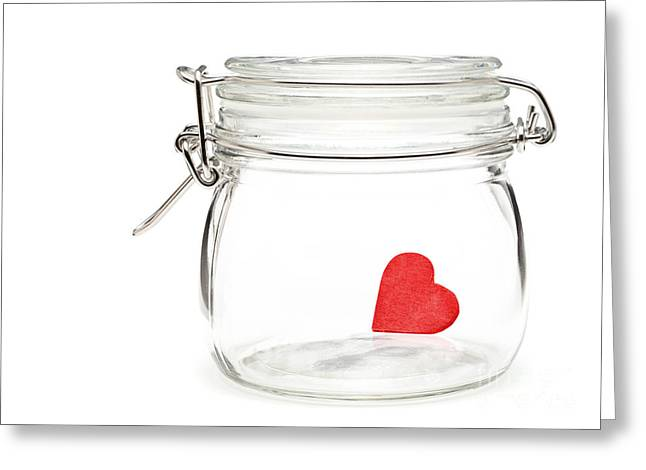 Preserved Heart Greeting Card by Shawn Hempel