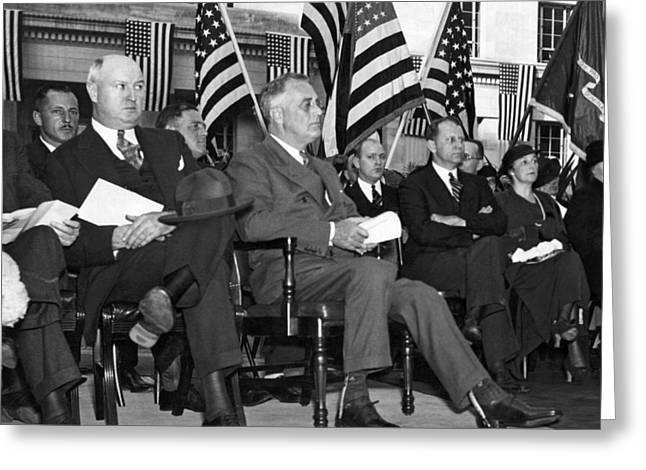 President Franklin Roosevelt Greeting Card