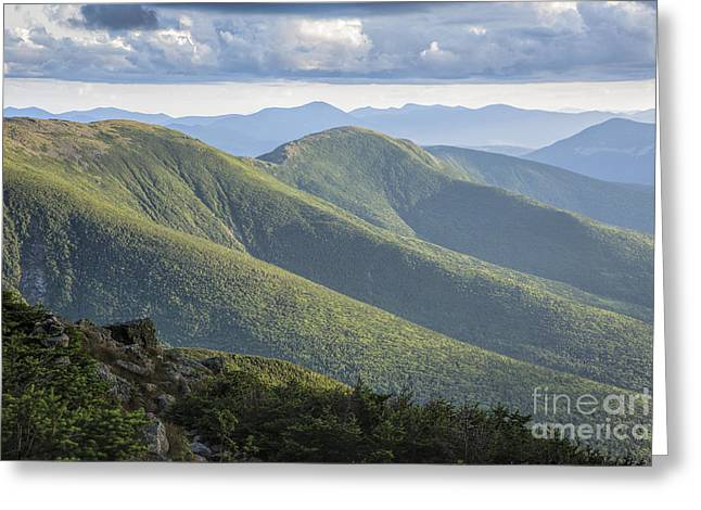 Presidential Range - White Mountains New Hampshire Greeting Card