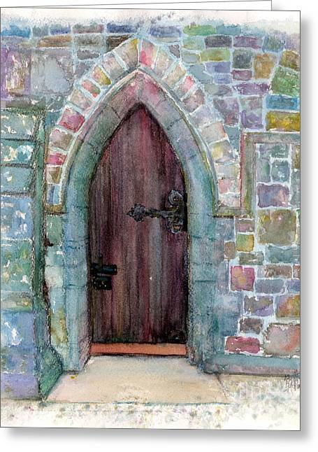 Prince Door Greeting Card