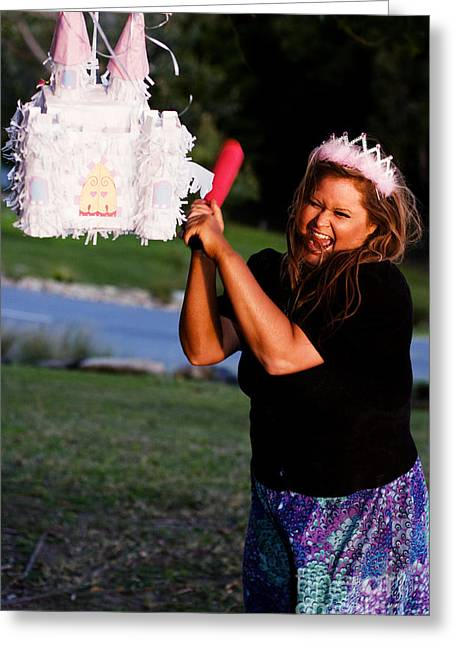Princess Home Wreaker Greeting Card by Jorgo Photography - Wall Art Gallery
