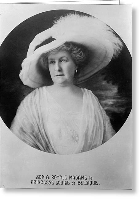 Princess Louise-marie(1858-1924) Greeting Card by Granger