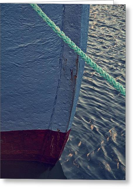 Prow Greeting Card by Odd Jeppesen
