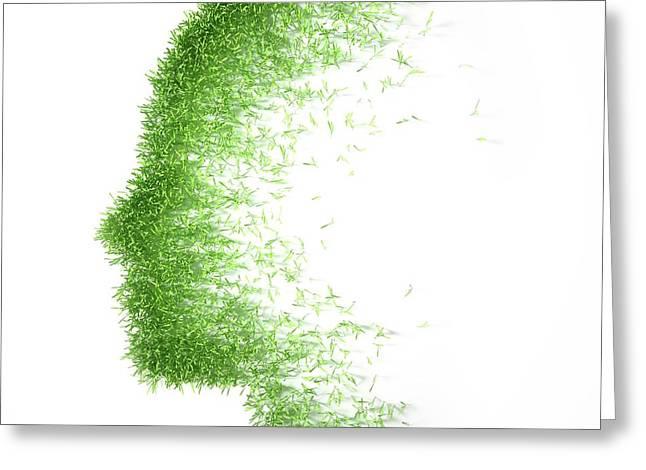 Psychology Greeting Card by Andrzej Wojcicki