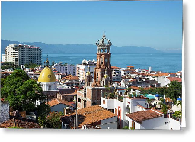 Puerto Vallarta, Jalisco, Mexico Greeting Card by Douglas Peebles