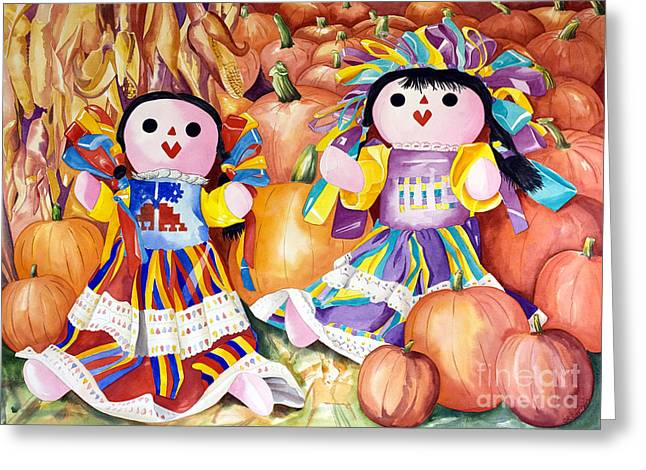 Pumpkin Patch Party Greeting Card