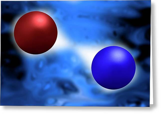 Quantum Vacuum Fluctuations Greeting Card